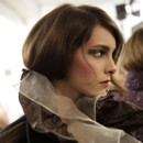 Fashion Week 2009 : le chignon bas