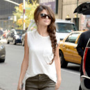 Look du jour : Selena Gomez adopte un look décontract' à New York