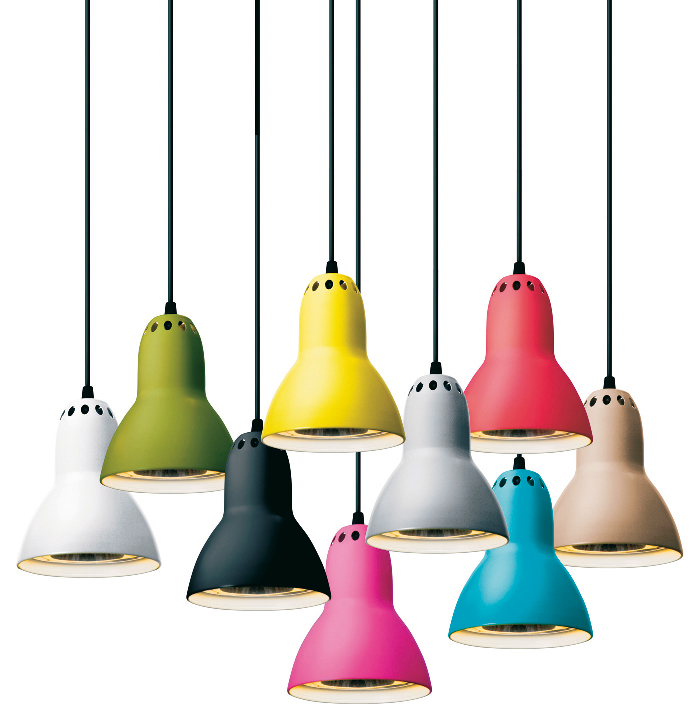Suspension anglepoise objet d co d co - Lustre baroque multicolore ...