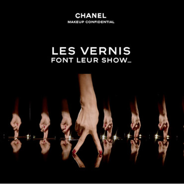 Chanel vernis à ongles Shade Parade