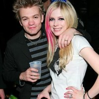 Photo : Avril Lavigne et Deryck Whibley