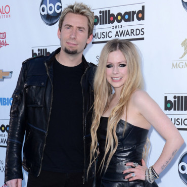 Avril Lavigne et Chad Kroeger au Billboard Music Awards à Las Vegas en mai 2013