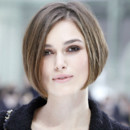Keira Knightley la coupe au carré