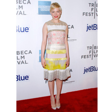 Michelle Williams en Giambattista Valli