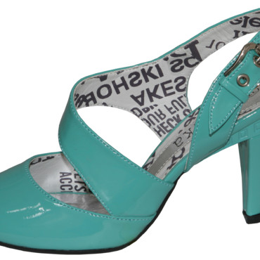 Chaussure compensées turquoise Xanaka 39,95 €