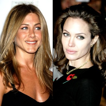 Jennifer Aniston et Angelina Jolie