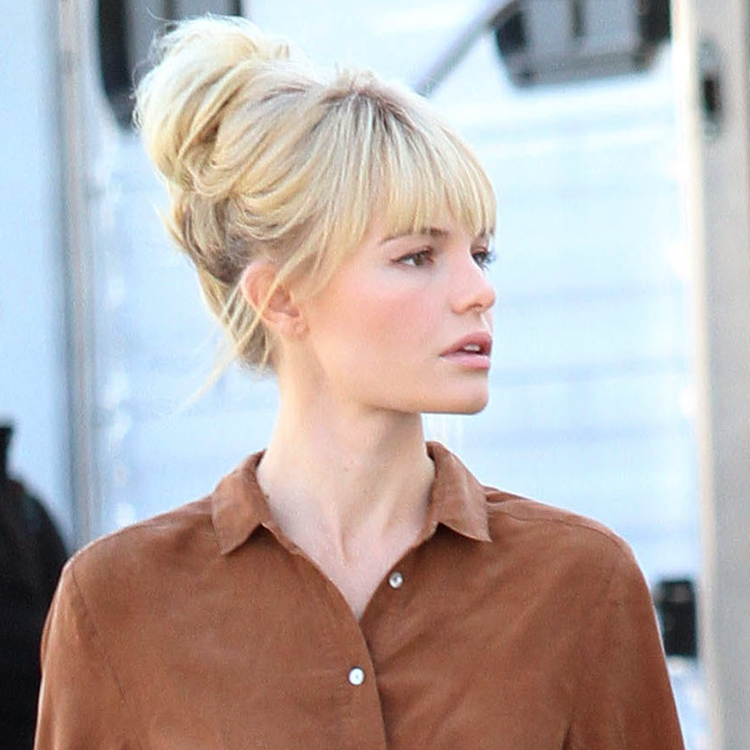 le look coiffure du jour kate bosworth so chic avec son. Black Bedroom Furniture Sets. Home Design Ideas