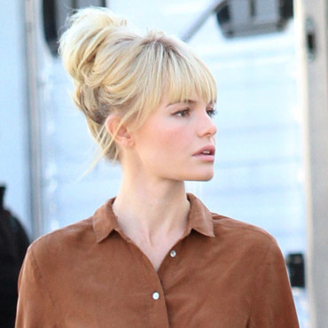 Kate Bosworth et son chignon