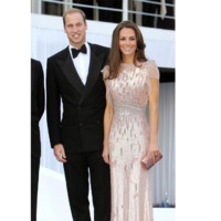 Kate Middleton Princesse Catherine et le Prince William au gala de bienfaisance ARK