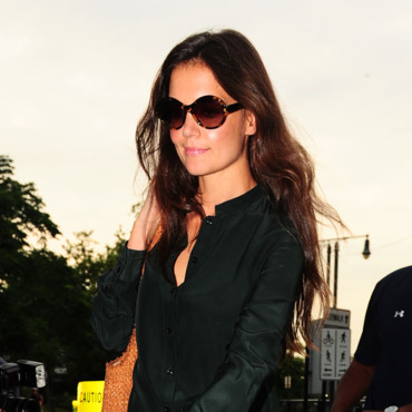 Katie Holmes cheveux libres NY Juillet 2012