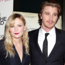 Kirsten Dunst et Garrett Hedlund à l'avant premiere d On the road à New York en décembre 2012