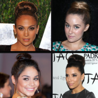 Eva Longoria, Jennifer Lopez : fan du chignon bun
