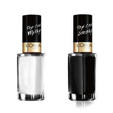 Top coat Smoky et Milky L'Oréal Paris