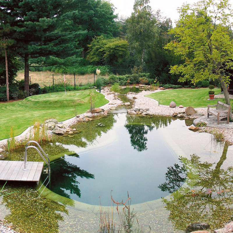 Comment decorer son bassin de jardin for Photo bassin de jardin