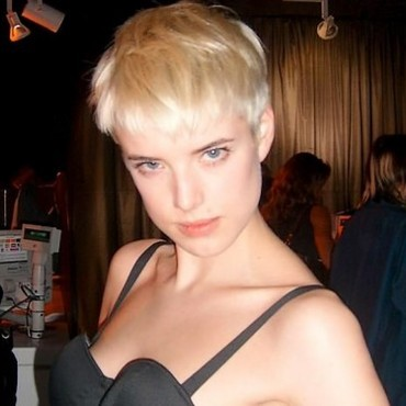Le top model Agyness Deyn