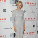 Look du jour : Naomi Watts, divine apparition au festival du film de New York