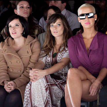 Fashion Week Lily Allen - Amber Rose