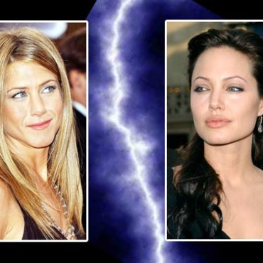 Jennifer Aniston face à Angelina Jolie