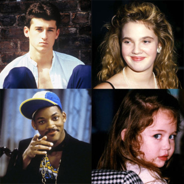 Montage Les Stars ont bien chang Patrick Dempsey Will Smith Drew Barrymore Miley Cyrus