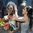 Leila Lopes Miss Angola Miss Univers 2011 la couronne