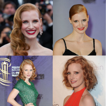 Jessica Chastain une actrice rayonnante