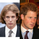 Match de beaux gosses Andrea Casiraghi VS le Prince Harry