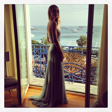 Rosie Huntington Whiteley à Cannes