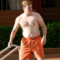 Photo : Matt Damon en maillot de bain