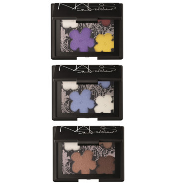 Palettes Flowers Nars Andy Warhol