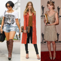 Vanessa Hudgens, Taylor Swift, Dakota Fanning... Le best-of mode de la semaine