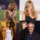 Montage Spielberg, Jennifer Lawrence, Jennifer Aniston et David Beckham