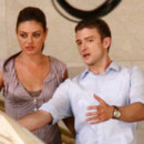 Mila Kunis et Justin Timberlake sur le tournage de Sex with Benefits