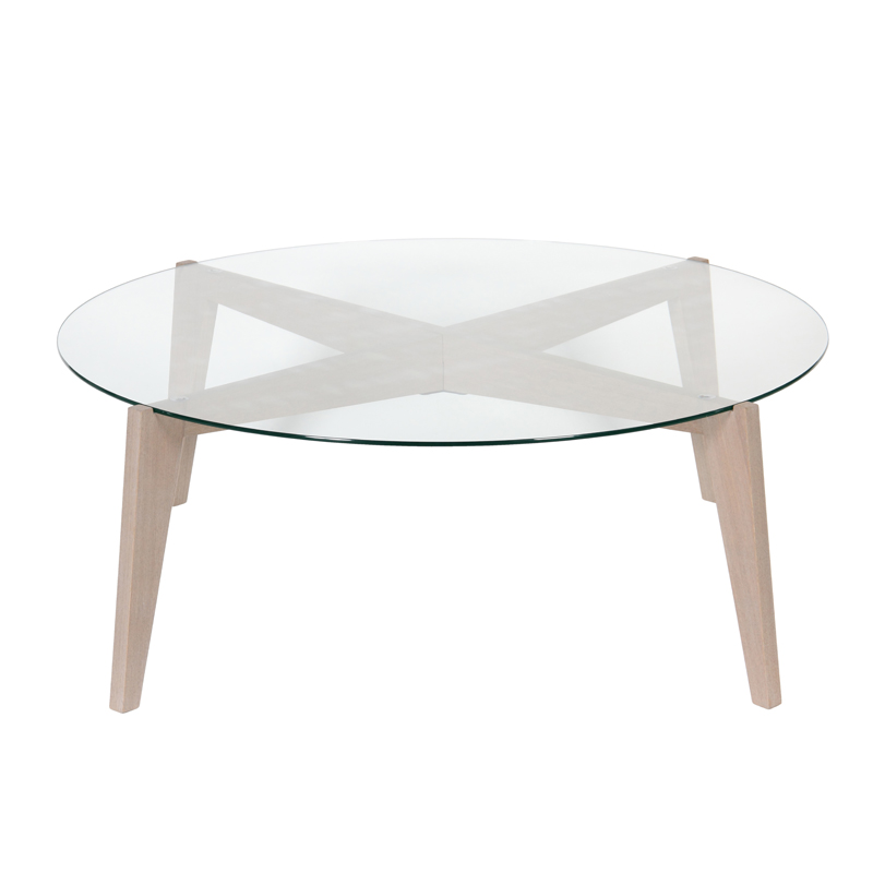 Sp cial salon les nouvelles tables basses d couvrir table basse ronde c - But table basse ronde ...