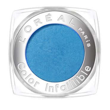 Maquillage yeux L'Oréal : Color Infaillible Blue Curacao