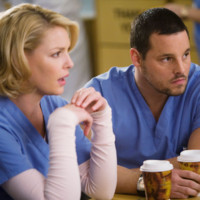 Photo : Katherine Heigl et Justin Chambers dans Grey&#039;s Anatomy