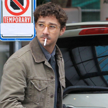 Shia Labeouf tournage The Company you keep novembre 2011