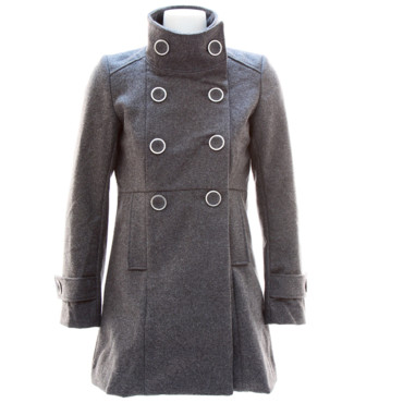 Look hiver Manteau Chic Sobriety