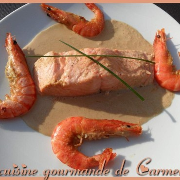 Saumon au gingembre