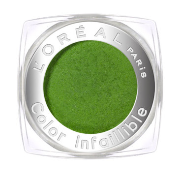 Maquillage yeux L'Oréal : Color Infaillible Smoothie Kiwi