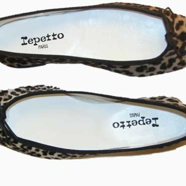 Repetto ballerines Leopard