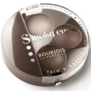 Bourjois maquillage yeux : smoky eyes lady vert de gris