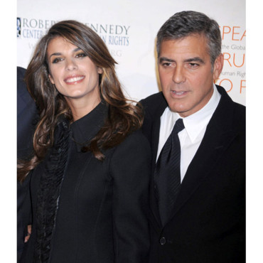 George Clooney et Elisabetta Canalis Robert F. Kennedy Center For Justice & Human Rights Ripple Of Hope Awards