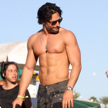 Joe Manganiello en avril 2012 au festival de Coachella en Californie