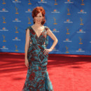 Carrie Preston en Makoto Takada aux Emmy Awards