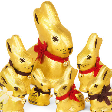 La famille lapin or Lindt