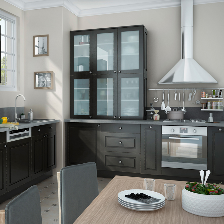 elegant castorama cuisine complete with castorama cuisine. Black Bedroom Furniture Sets. Home Design Ideas