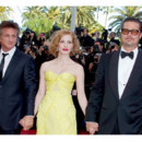 Tree of life Cannes 2011 Sean Penn Jessica Chastain Brad Piit