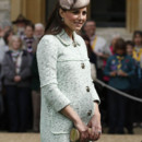 Kate Middleton le 21 avril lors d'un rassemblement de scouts à Windsor.