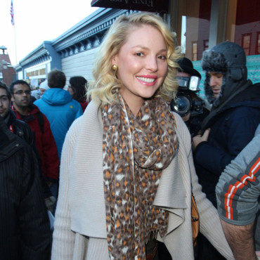 Katherine Heigl au ski à Park City