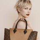 Michelle Williams pour la campagne publicitaire Louis Vuitton